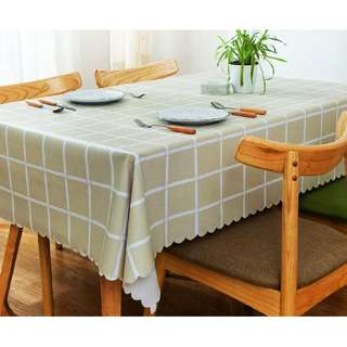 PVC Waterproof Table Cloth