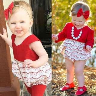 Newborn Infant Baby Girl Toddler Floral Romper Jumpsuit Bodysuit Outfits Sunsuit