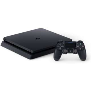 PS4 Black Slim with 1 Extra Vers. 2 Controller Bought, Oct 2017