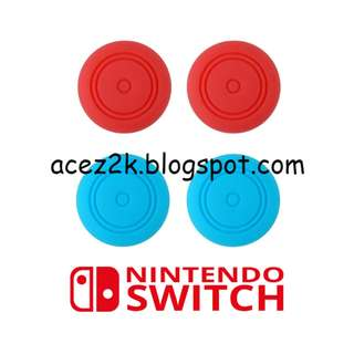 [BN] Nintendo Switch Joy-Con Analog Sticks Silicone Caps (Brand New)