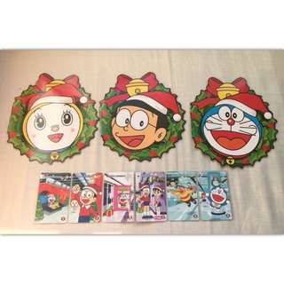 MTR 港鐵 地鐵 多啦A夢 叮噹 聖誕紀念車票 收藏絕版紀念車票 連套摺