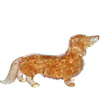 Dachshund 3D Crystal Puzzle