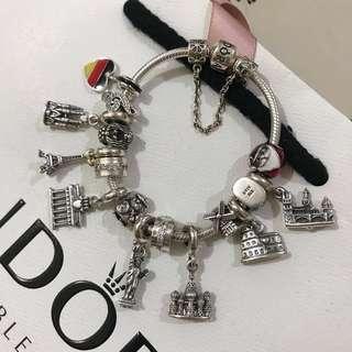 ✈️ Pandora Traveler's Bracelet 旅行者手鏈