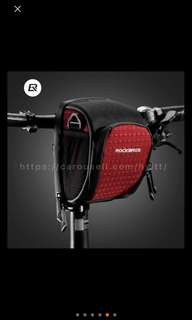 Bicycle handlebar bag scooter handlebar pouch