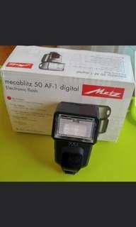 Canon Flash - Metz 50 AF-1 Digital