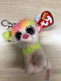Brand new TY beanie boo's collection keychain