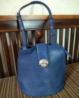 Preloved Blue Sling Bag
