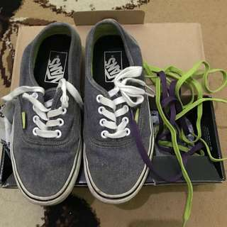 Vans Authentic Washed Lime