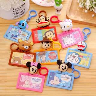 Little Cartoon Card Holder w Lanyard - SDR980  Design: as attach photo