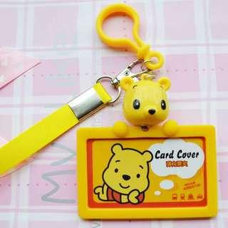 Little Cartoon Card Holder w Lanyard - SDR980  Design: as attach photo