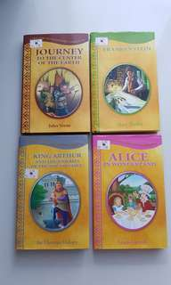 Children's Classics (Frankenstein, White Fang, Time Machine, etc.)