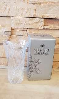 BN Solitaire Crsytal Flair Vase