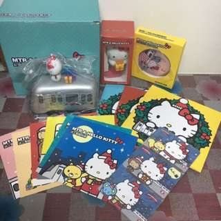 MTR 港鐵 地鐵 2014年收藏絕版車票 Hello Kitty 送上聖誕祝福