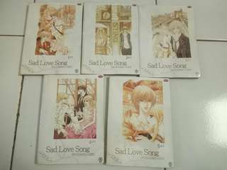 Sad love song komik seri full lengkap drama jepang