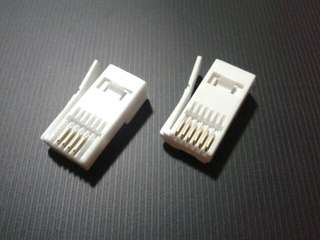 全新 英式電話頭 (4/6 pin)