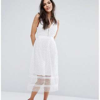 Authentic Abercrombie & Fitch Lace Dress