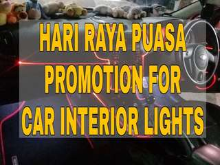 PROMOTION for Car Interior Light
