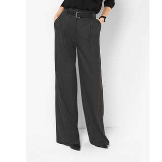 Authentic MICHAEL MICHAEL KORS Flannel Pleated Trousers