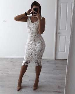 White dress size s new with tags $30 plus shipping