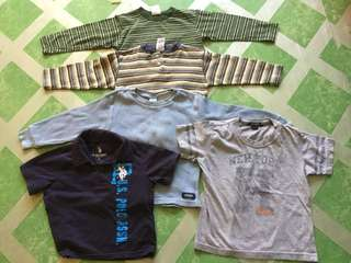 Assorted Branded Shirt for kids size 3T(Bundle Sale!)