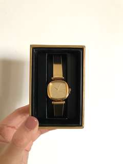 Komono Moneypenny Metallic Gold Watch