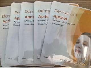 TAKE ALL! Dérmal Apricot Moisturizing Mask