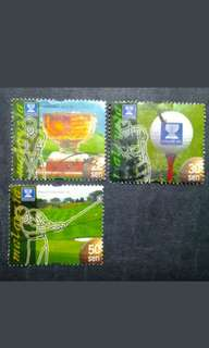 Malaysia 1999 Golf World Cup Loose Set Short Of $1 - 3v Used Stamps