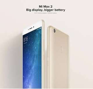 Kredit Xiaomi Mi Max 2 Ram 4/128Gb Gold