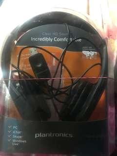 Plantronics noise cancelling headset