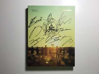 SF9 Knights of the Sun - All Members SIGNED Album