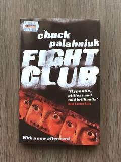 Novel Fight Club by Chuck Palahniuk