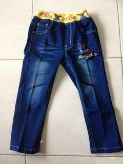 Celana Import anak Sipederman (belum pernah dipakai)