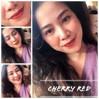 Cherry Red Lip and Cheek Tint