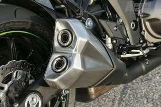 Kawasaki z1000 stock exhaust