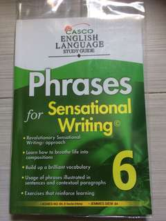 Phrases for sensational writing Primary6