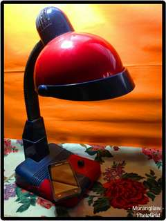 Study Lamp Red