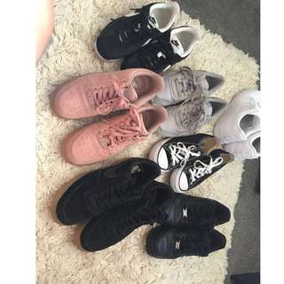 Labelled shoes