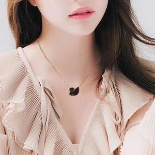 Swan Crystal necklace