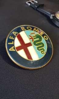 Alfa Romeo hood emblem