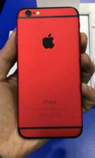 Iphone 6 red
