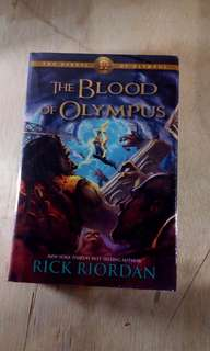 [Hard cover] Heroes of Olympus: The Blood of Olympus - Rick Riordan