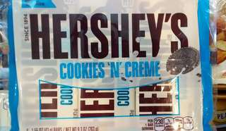 Hershey's 6 Bar