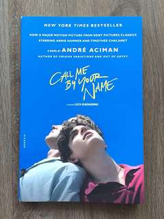 Novel Call Me by Your Name by André Aciman