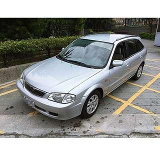 福特 LIFE 銀 1.6自排 5門 2002