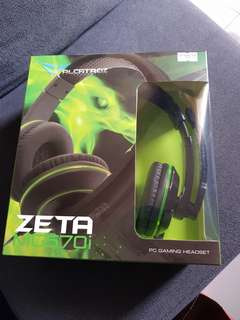 Brandnew Pc gaming headset with price tag