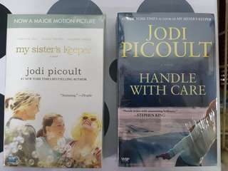 1) My Sister's Keeper  2) Handle with Care. By Jodi Picoult