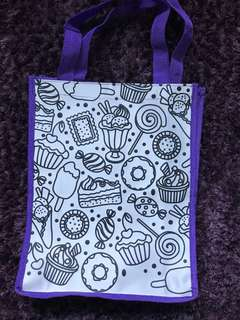 Colour Yourself Tote Bag