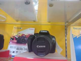 Camera canon EOS1300DL bisa kredit
