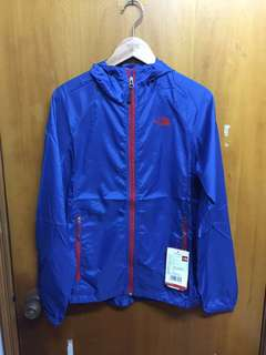 全新The North Face 風褸藍色