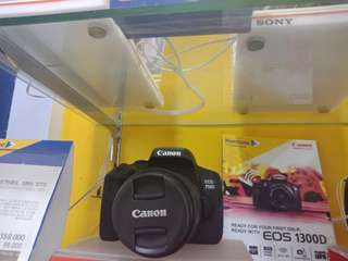 Camera Canon DSLR EOS750DL bisa kredit